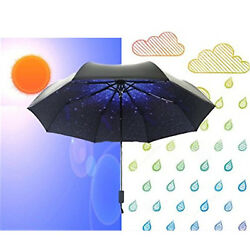 Travel Umbrella Sun & Rain Compact Mini Totes Lightweight Waterproof Windproof