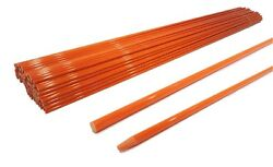 Pack Of 500 Driveway Markers 48 Inches 1/4 Inch For Lawn Yard Grass Drive Way