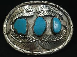Turquoise And Silver Finish - Native American - Artisan Crafted - Free Shipping