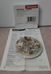 New Honeywell Q539j 1006 Subbase For T87f Round Heating Cooling Thermostats