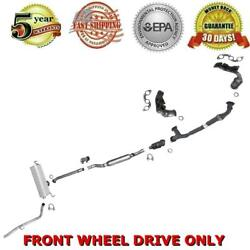 Complete Muffler Exhaust System And Converter 04-06 Sienna 3.3l Front Wheel Drive