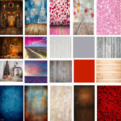 Xmas Curtain Wall Floor Backdrop Vinyl Photography Studio Photo Background Props