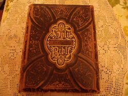 Antique_ Holmanand039s Large Holy Bible 1876