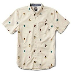"""X Marvel Houser Super Hero Button Up Short Sleeve Boys Sz L New """"sold Out"""""""