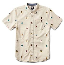 """X Marvel Houser Super Hero Button Up Short Sleeve Boys Sz M New """"sold Out"""""""