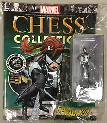 MARVEL chess figure SPIDER-GIRL WHITE PAWN eagle moss new