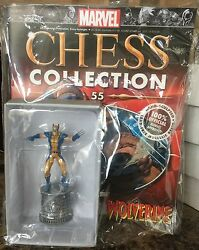 MARVEL chess figure WOLVERINE WHITE KNIGHT eagle moss new