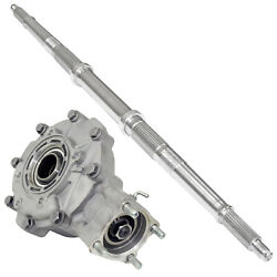 Complete Rear Differential W/ Axle Shaft For Honda Trx300 Fourtrax 300 2x4 88-91