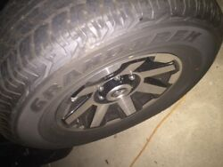 2018 Toyota 4runner Trd Off Road Rims And Tires And Tpms Sensors With 6k Miles