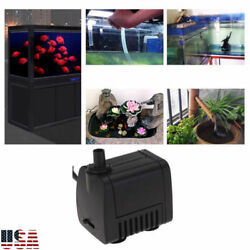 Water Pump Submersible Electric Quiet Small For Aquarium Fountain Pond Fish Tank $8.99