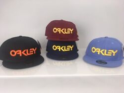 OAKLEY NEW ERA 59FIFTY HAT NEW ASSORTED COLORS Quarantine Sale Tiger King $9.95