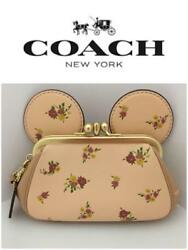 Coach limited! Disney collaboration! Clutch bag from japan (3182