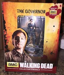Walking Dead THE GOVERNOR figure & magazine eagle moss new