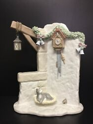 Lladro 6895 It's Almost Time, 11.25 H, From Santa's Magical Workshop, In Box