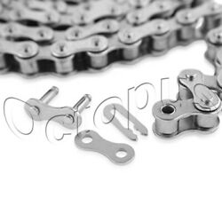 80h-1 Roller Chain For Sprocket 50 Feet With 2 Connecting Links Drive Chain