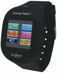 New Madison New York Candy Tech Ct--03 Phone Smart Watch - Black Or White
