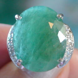 Best Quality 18.50 Ct Natural Grandidierite Ring 925 Sterling Silver.size 7.0