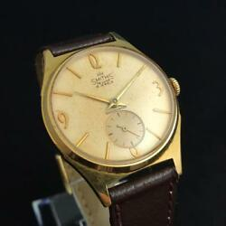 Antique 1960's SMITHS De Luxe Smith Deluxe Handwound Watch made in England