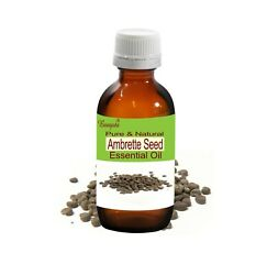 Bangota Ambrette Seed Abelmoschus Moschatus Pure And Natural Essential Oil