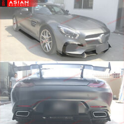 Mercedes Benz AMG GT S CARBON BODYKIT C190 / R190 front lip diffuser side skirts