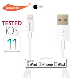 Apple Mfi Certified Lightning Cable Durable Iphone Charger For Xs/xs Max/xr/x