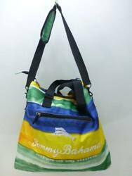 Tommy Bahama Insulated Tote Cooler Bag Picnic Beach Summer shoulder strap marlin