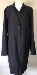 39751242 Jil Sander Cashmere Duster Coat Dress Jacket Tunic Top Made Italy