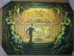 Indiana Jones There Is Nothing To Fear Here Movie Poster Art Print Dan Mumford