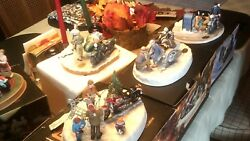 Harley Davidson Limited Edition Holiday Figurines - Set Of 9