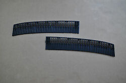 Bmw E12 528i 530i Hood Air Inlet Vent Grilles Left And Right Sides Oem Used