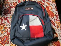 Jansport Trans Backpack TEXAS Lone Star  Laptop Sleeve17.5