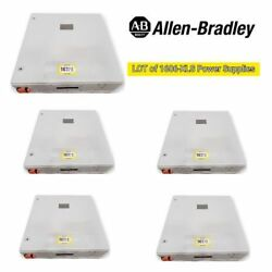 Lot Of 5 Surplus Electrical Enclosures W/ Allen Bradley Power And Point I/o