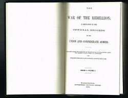 War Of The Rebellion Offiical Records Of The Union + Confederate Armies Complete