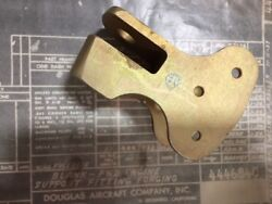 Vintage Douglas Aircraft Part 4446840-blank-fwd Engine Support Fitting Forging