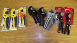 Huge Lot Of Hdx Ridgid Husky Apollo Pipe And Tube Cutters.