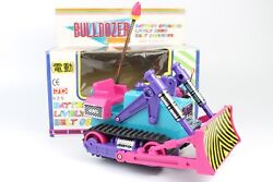 Vintage Rare Toy Space Bulldozer Battery Operated Taiwan