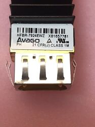 Hfbr-7924ewz 4 Channel Vcsel With Extended Emi Nose Shield Avago