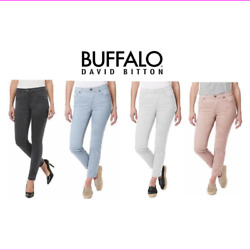 Buffalo David Bitton Women's Mid-Rise Skinny Ankle Grazer Jean