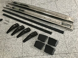 Golf 1 Gti Metal Bumper Stainless Steel Chrome Polished Complete Set Bar