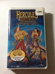 Hercules Xena - The Animated Movie The Battle For Mount Olympus Vhs 1998 Rare