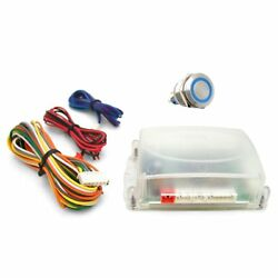 One Touch Engine Start Kit - Blue illuminated Button streets rods muscle cars