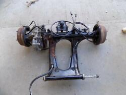 Yamaha Terrapro Terra Pro Complete Rear Differential Axle Brakes Nice