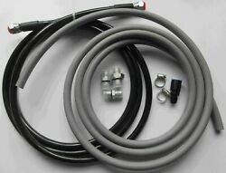 1996-00 Civic 2dr Coupe Replacement Ss Fuel Feed Line And Rubber Return Line Kit