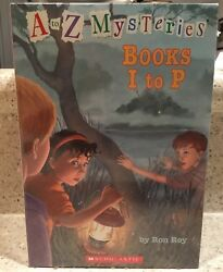 Brand New A To Z Mysteries Books I To P Box Set Of 8 Books By Ron Roy Scholastic