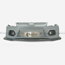 For 05-11 Honda FD2 EPA Style FRP Wide Body kit Front Bumper With Front Lip part