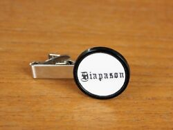 Organ Stop Tie Tack, 3 Styles, Personalized Photo Music Gift