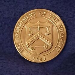1789 The Department Of The Treasury Denver Mint Coin