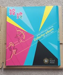 Collector Album Only No Coins For 50 Pence Coin London Olympics 2012 - New