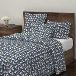 Westie West Highland Terrier Dog Dogs Westie Sateen Duvet Cover by Roostery