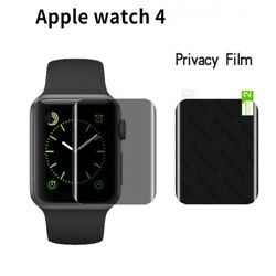 2 5 10 PCS Privacy Anti-Spy Screen Protector Soft Film For apple watch 4